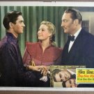 EQ09 Day-Time Wife TYRONE POWER/LIND DARNELL Lobby Card