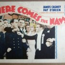 EQ19 Here Comes The Navy JAMES CAGNEY 1934 Lobby Card