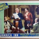 EQ22 Jamaica Inn CHARLES LAUGHTON/HITCHCOCK Lobby Card