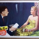 EQ25 Life Of Her Own LANA TURNER 1950 Lobby Card