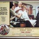 EQ37 Sting PAUL NEWMAN/ROBERT REDFORD Lobby Card