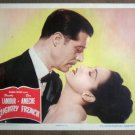ER21 Slightly French DOROTHY LAMOUR/D AMECHE Lobby Card
