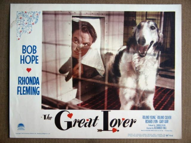 ES09 Great Lover BOB HOPE 1949 Portrait Lobby Card