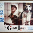 ES09 Great Lover BOB HOPE 1949 Portrait Lobby Card