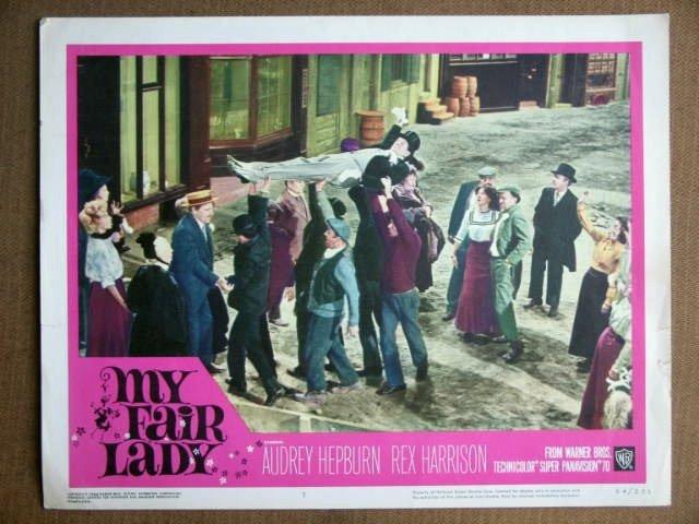 ES30 My Fair Lady STANLEY HOLLOWAY 1964 Lobby Card