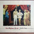 ES33 Pajama Game DORIS DAY/JOHN RAITT Lobby Card