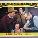 ES36 Ridin On A Rainbow GENE AUTRY 1941 Lobby Card