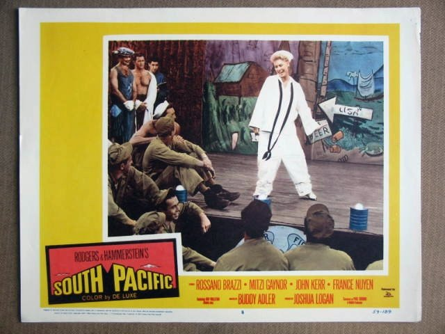 ES40 South Pacific MITZI GAYNOR 1959  Lobby Card