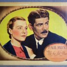 ES49 We Are Not Alone PAUL MUNI '39 Portrait Lobby Card