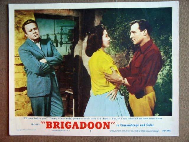 ET04 Brigadoon GENE KELLY/CYD CHARISSE Lobby Card