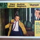 ET08 Charade CARY GRANT/AUDREY HEPBURN Lobby Card