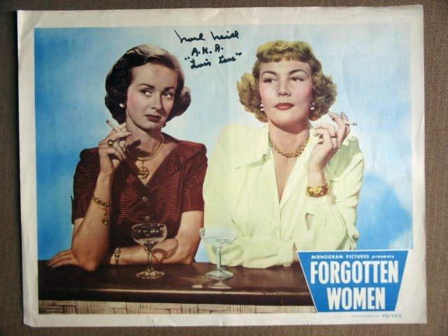 EU21 Forgotten Women NOEL NEIL (autographed) Lobby Card