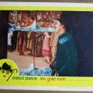 EU22 Gold Rush CHARLES CHAPLIN Portrait Lobby Card