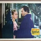 EU26 Loves Of Edgar Allan Poe LINDA DARNELL Lobby Card