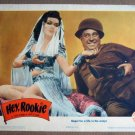 EV25 Hey, Rookie ANN MILLER/JOE BESSER Lobby Card
