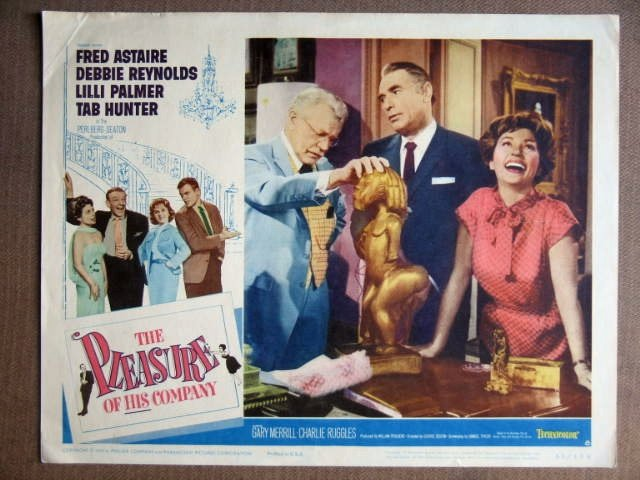 EV33 Pleasure Of His Company FRED ASTAIRE Lobby Card