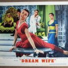 EW18 Dream Wife CARY GRANT Original 1953  Lobby Card