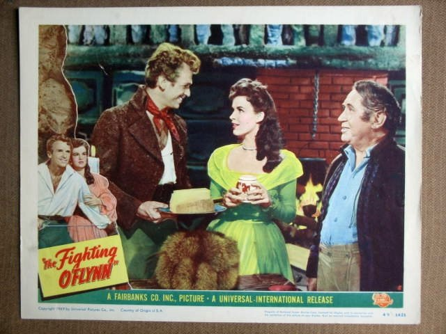 EW20 Flying O'Flynn DOUGLAS FAIRBANKS JR Lobby Card