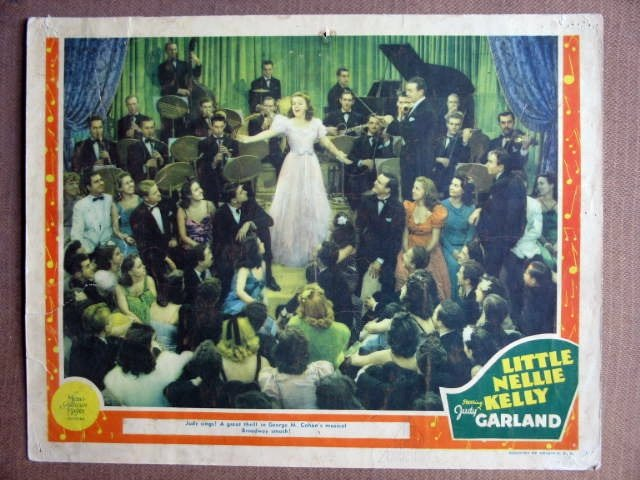EW28 Little Nelly Kelly JUDY GARLAND 1940 Lobby Card