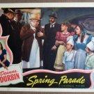 EW38 Spring Parade DEANNA DURBIN 1940  Lobby Card