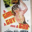 EW47 Girl, Guy & A Gob LUCILLE BALL One Sheet Poster LB