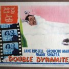 EX17 Double Dynamite GROUCHO MARX 1952 Lobby Card