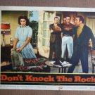 EY12 Don't Knock The Rock ALAN DALE/P HARDY Lobby Card
