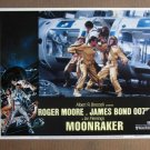 EY31 Moonraker ROGER MOORE/JAMES BOND Lobby Card