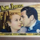 EY34 Now & Forevr CAROLE LOMBARD/GARY COOPER Lobby Card