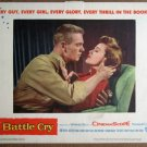 EZ11 Battle Cry TAB HUNTER 1955 Portrait Lobby Card