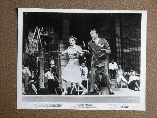 EZ28 Easter Parade JUDY GARLAND  Original Studio Still