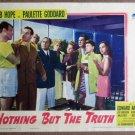 EZ43 Nothing But Truth BOB HOPE/P GODDARD Lobby Card