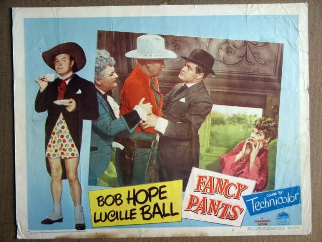 FA06 Fancy Pants LUCILLE BALL/BOB HOPE Lobby Card