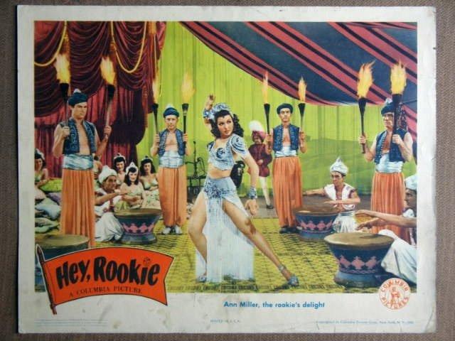 FA20 Hey Rookie ANN MILLER 1943  Lobby Card