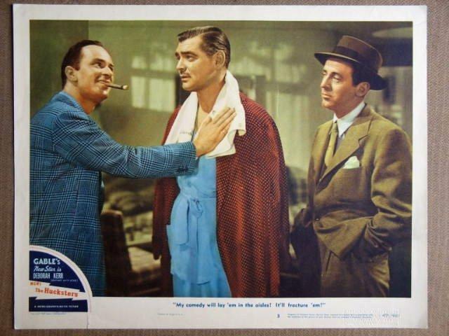 FA23 Hucksters CLARK GABLE Original 1947 Lobby Card