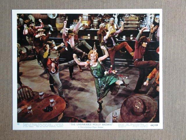 FA50 Unsink Molly Brown DEBBIE REYNOLDS Studio Still