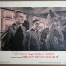 FB18 Girl He Lft Behind TAB HUNTER 1956 Lobby Card