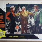 FB28 Lone Star CLARK GABLE/BRODERIC CRAWFORD Lobby Card
