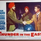 FB42 Thunder In The East ALAN LADD 1953 Lobby Card
