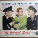 FB47 Well Groomed Bride OLIVIA DeHAVILLAND Lobby Card