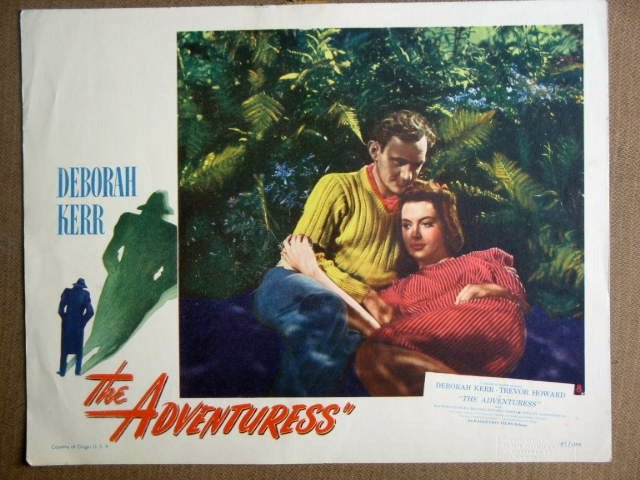 FC01 Adventuress DEBORAH KERR/TREVOR HOWARD Lobby Card