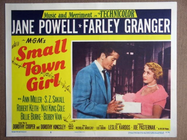 FC37 Small Town Girl JANE POWELL/F GRANGER Lobby Card