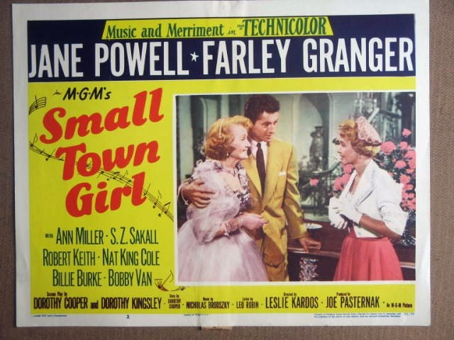 FC38 Small Town Girl JANE POWELL/F GRANGER Lobby Card