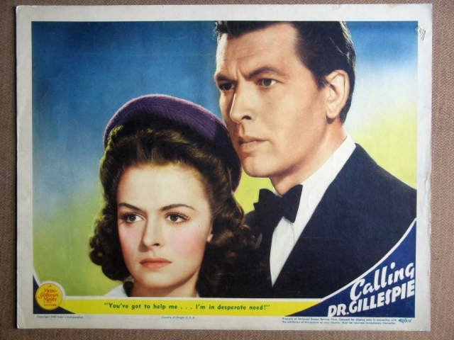FC9 Calling Dr Gillespie DONNA REED Portrait Lobby Card