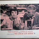 FD23 Girl He Left NATALIE WOOD/TAB HUNTER Lobby Card