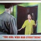 FD24 Girl Who Had ELIZABETH TAYLOR 1953 Lobby Card