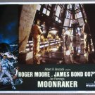 FE29 Moonraker ROGER MOORE/JAMES BOND 007 Lobby Card