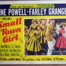 FE44 Small Town Girl JANE POWELL/BOBBY VAN Lobby Card
