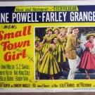 FE44 Small Town Girl JANE POWELL/BOBBY VAN Lobby Card