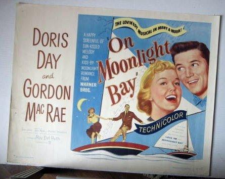 FF06 On Moonlight Bay DORIS DAY 1951 Half Sheet Poster